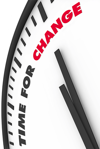 time for change clock - equal opportunities