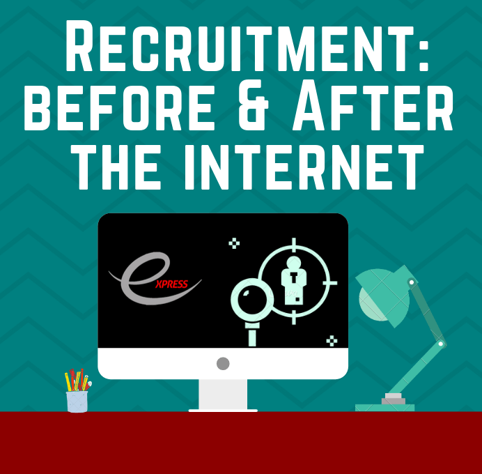 recruitment before and after the internet
